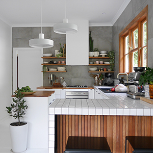 This newly transformed kitchen is a renovators dream